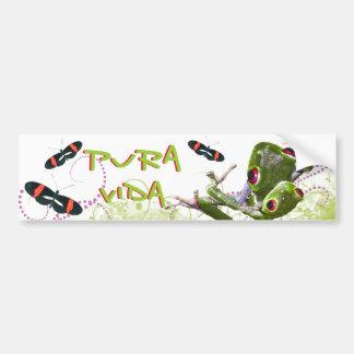 Costa Rican Pura Vida Bumper Sticker
