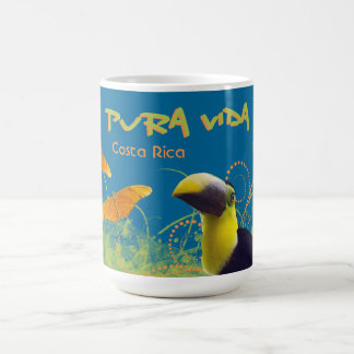 Costa Rican Pura Vida Toucan Mug