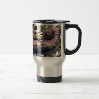 Costa Rican sloth Travel Mug