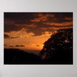 Costa Rican Sunset III Poster
