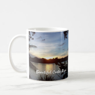 Costa Rican Sunset - Tortuguero Evening Coffee Mug