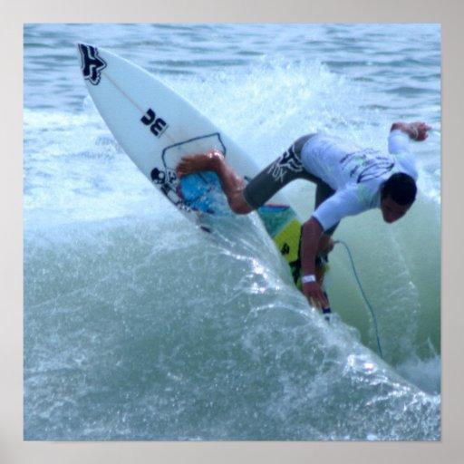 Costa Rican Surfing Print