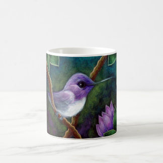 COSTAS HUMMINGBIRD 11 oz Classic White Mug