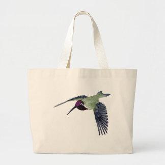Costas Hummingbird Tote Bags