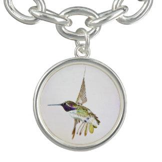Costa's Hummingbird bracelet