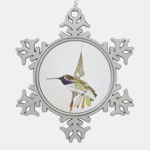Costa's Hummingbird Ornament