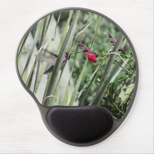 Costa's Hummingbird Gel Mouse Pad