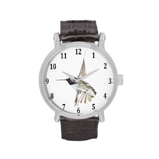 Costa's Hummingbird Wrist Watch