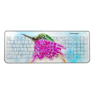 Costa's Hummingbird Wireless Keyboard