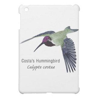 Costa's Hummingbird with Name iPad Mini Cases