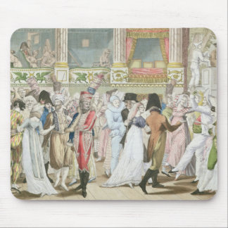 Costume Ball at the Opera, after 1800 Mouse Mat
