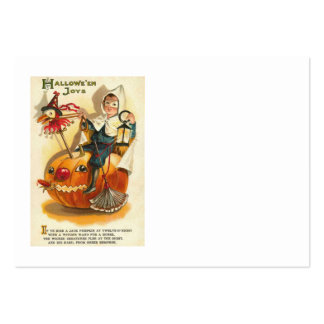 Costume Boy Jack O' Lantern Pumpkin Apple Pack Of Chubby Business Cards