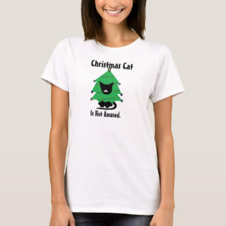 Costume Cat; Christmas Cat T-Shirt