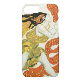 Costume design for a bacchante in 'Narcisse' iPhone 8/7 Case