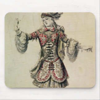 Costume design for a male dancer, c.1681 mouse pad