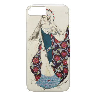 Costume design for a woman, from Judith, 1922 (col iPhone 7 Case