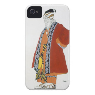 Costume design for an old man in a red coat (colou iPhone 4 Case-Mate case