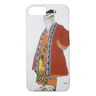 Costume design for an old man in a red coat (colou iPhone 8/7 case