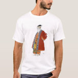 Costume design for an old man in a red coat (colou T-Shirt