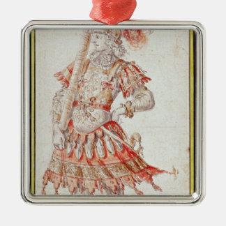 Costume design for Carousel, c.1662 Christmas Ornament