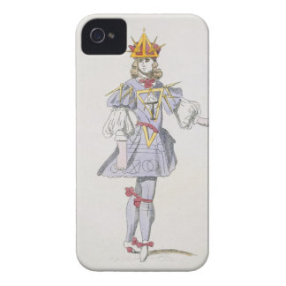 Costume design for Geometry in a 17th century cour iPhone 4 Cover