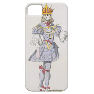 Costume design for Geometry in a 17th century cour iPhone 5 Covers