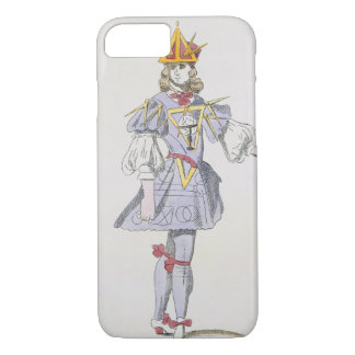 Costume design for Geometry in a 17th century cour iPhone 7 Case