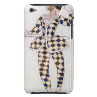 Costume design for Harlequin, from Sleeping Beauty iPod Touch Covers