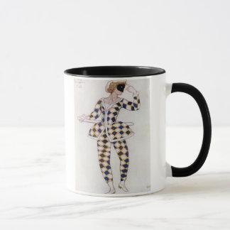 Costume design for Harlequin, from Sleeping Beauty Mug