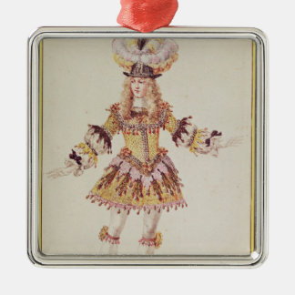 Costume design for male dancer, c.1660 christmas ornament