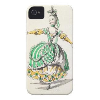 Costume design for Phrygienne, in Dardanus, a libr iPhone 4 Case-Mate Cases