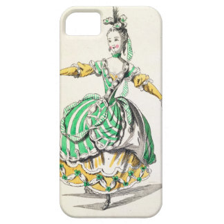 Costume design for Phrygienne, in Dardanus, a libr iPhone 5 Covers
