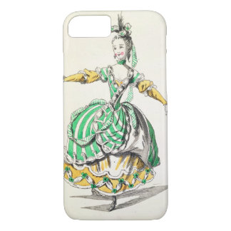 Costume design for Phrygienne, in Dardanus, a libr iPhone 8/7 Case