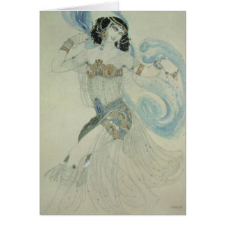Costume design for Salome Card