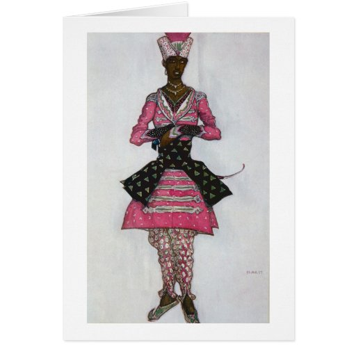 Costume design for The Indian Bridegroom, from Sle Greeting Cards
