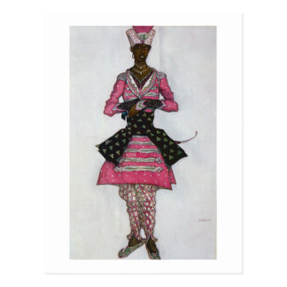 Costume design for The Indian Bridegroom, from Sle Postcard
