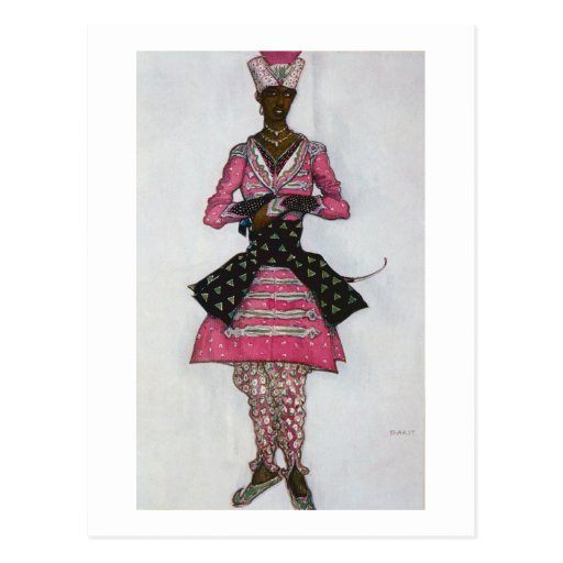 Costume design for The Indian Bridegroom, from Sle Post Cards