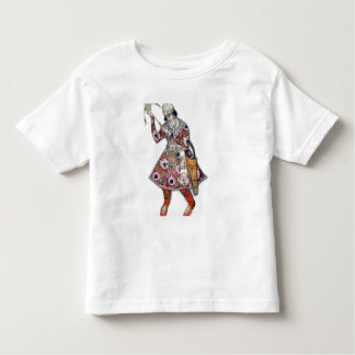 Costume design for The Tsarevitch, from The Firebi Tee Shirt