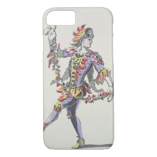Costume design for Triton, in a 17th century balle iPhone 8/7 Case