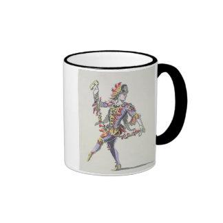 Costume design for Triton, in a 17th century balle Coffee Mug