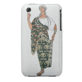 Costume design from Phedre 1917 colour litho Case-Mate iPhone 3 Case