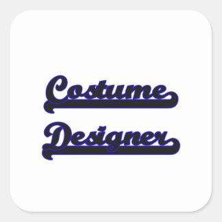 Costume Designer Classic Job Design Square Sticker