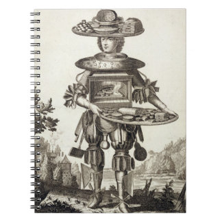 Costume for a Pastry Cook, pub. by Gerard Valck (1 Spiral Notebooks