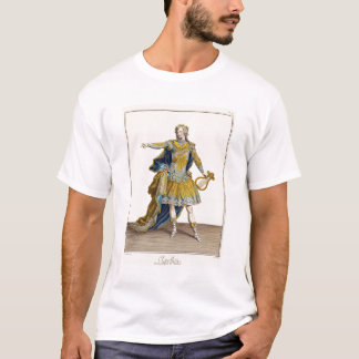 Costume for Apollo in the opera 'Phaethon', engrav T-Shirt