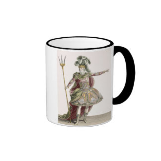 Costume for Neptune in several operas, engraved by Mug