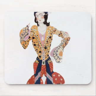 Costume for Nijinsky  in the ballet Mouse Mat