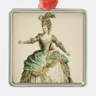 Costume for Venus in several operas, engraved by t Christmas Ornament