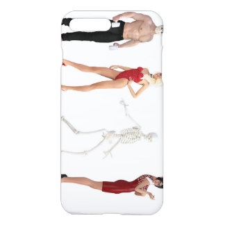 Costume Party for Halloween with Different People iPhone 7 Plus Case