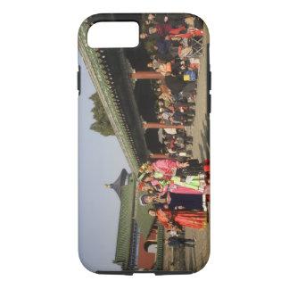 Costumed amateur folk dancers entertain iPhone 8/7 case