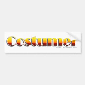 Costumer (Text Only) Bumper Sticker